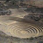 Inca terraces in Maras