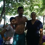 the women that gave us our massages on the beach