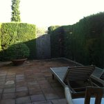 Private outdoor area.