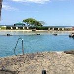 The pool next door at the Kauai Beach Resort