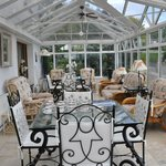 Beautiful enclosed sunroom
