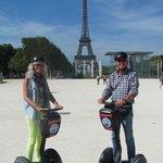 Segwaying in Paris