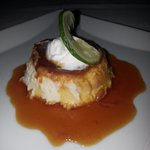 Caramel Key Lime Flan