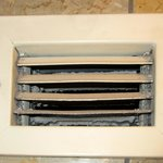 Air vent that needs a thorough cleaning