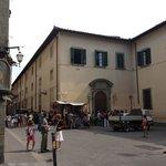 Accademia exterior, Florence, Italy