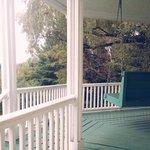 back porch swing