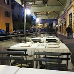 Dining Al fresco before 9PM in Rome