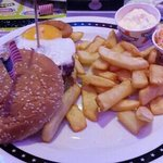 double king burger, un délice!