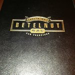 Betelnut Menu Cover