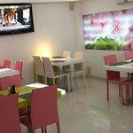 Restaurante. Sala de desayuno