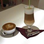 café capuccino y machiato