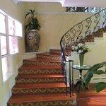 Main house...stairway