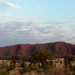 Ayers Rock Campground la vista di Urulu