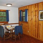 Cabin dining area