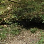 Cave along hiking trail