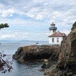 Nearby Lime Kiln Lighthouse