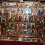 Rear of the dolls house