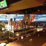 at the bar!
