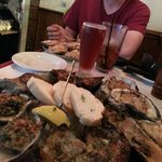 The Oyster sampler. A dozen done 4 different ways. very enjoyable.