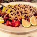 Chicken with Bone and Sereshk Rice
