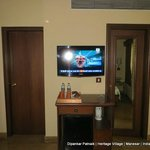Large Panel TV in the Room