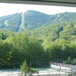 Loon Mountain above the trees