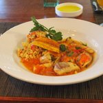 Seafood Tagine and Couscous