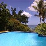 Pool at Fatumaru Lodge.