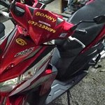 nice new motorcycle for rent