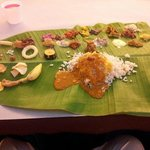 The Onam Sadya spread