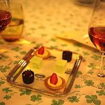 Petit fours to round off the gourmet experieince.