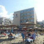 Top Lage direkt am Strand
