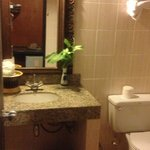 Bathroom...looks better in photo than for real