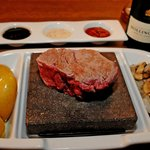 Steak on a Stone
