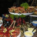 Notre Buffet Fruits de mer