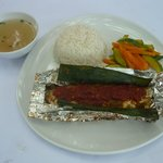 Grilled Fish Set (Ikan Pepes)