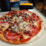 A Meat Lovers Pizza