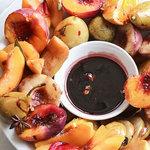 Autumn fruit platter