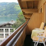 Lake Zell from our balcony