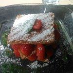 Postre: Mille- Feuilles fraises.