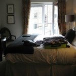 Oscar Wilde Suite - please excuse the bag on the bed