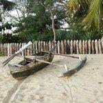 Der Strand ist lang und romantisch