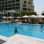 The Crowne Plaza pool is the place to relax!