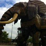 l'éléphant de l'île des machines