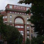 Eingang zu Hotel Gran Ultonia