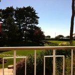 """vue de la terrasse de """" La Rotonde"""""""