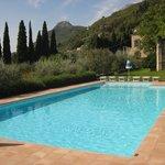 Hoteleigener Pool
