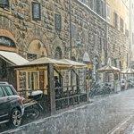 Florence under the rain