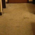 Very dirty carpet