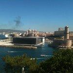 le fort, le MUCEM ( et l'échappement d'un paquebot )